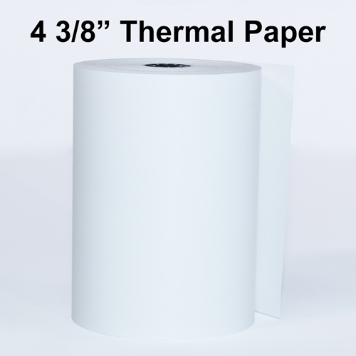 """4 3/8"""" Thermal Paper Rolls"""