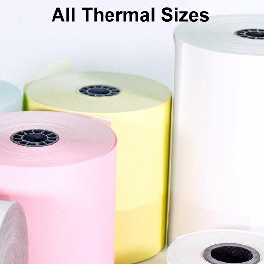 All Thermal Paper Sizes