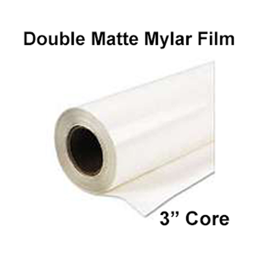 "Double Matte / Mylar Film Rolls (3"" Cores) - Toner Based Printers"