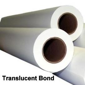 "Translucent Bond Engineering Rolls (3"" cores)"