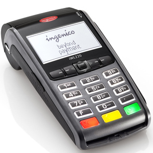 Ingenico Credit Card Paper
