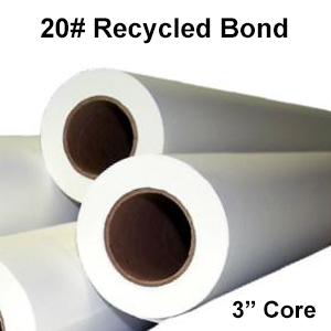 """Recycled Paper Rolls (3"""" Cores)"""