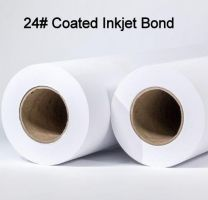 "24"" x 300' 24# Coated, High Resolution Plotter Paper, 2 rolls/case"