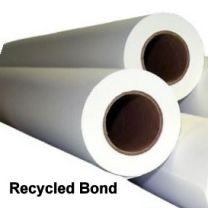 """30"""" x 500' 20# Recycled Bond, 2 rolls/case (3"""" Cores)"""