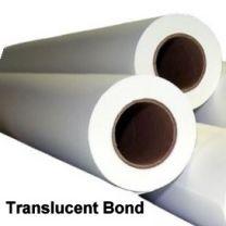 "34"" x 500' 18# Translucent Bond, 2 rolls/case"