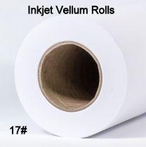 "36"" x 150' 17# Inkjet Vellum Rolls, 1 roll/case - (2"" Cores)"