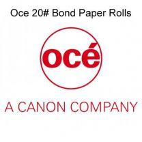 """24"""" x 200' 20# Oce Brand Plotter Paper Rolls, (2"""" core) 4 rolls/case"""