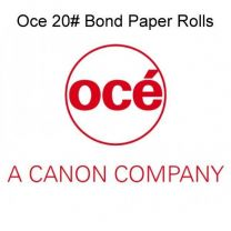 "24"" x 300' 20# Oce Brand Plotter Paper Rolls, (2"" core) 1 roll/case"