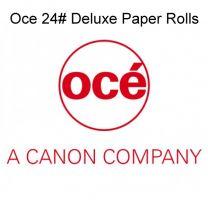"24"" x 150' 24# Oce Deluxe Bond Plotter Paper, (2"" core) 4 rolls/case"