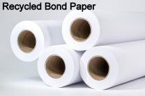 "24"" x 150' 20# Recycled Bond, 4 rolls/case (2"" Cores)"