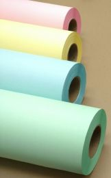 """24"""" x 500' 20# Bond - Yellow Tinted Paper Rolls   2 rolls/case (3"""" Cores)"""